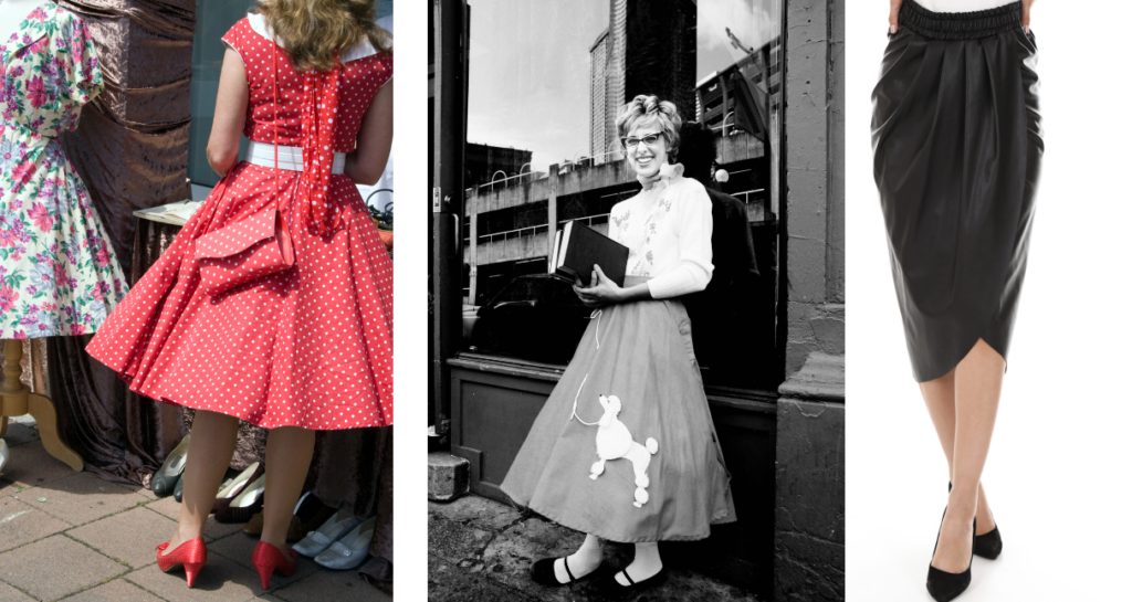 Life in the 1950s - Women's Fashion