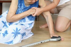Elderly Woman Who Has Fallen
