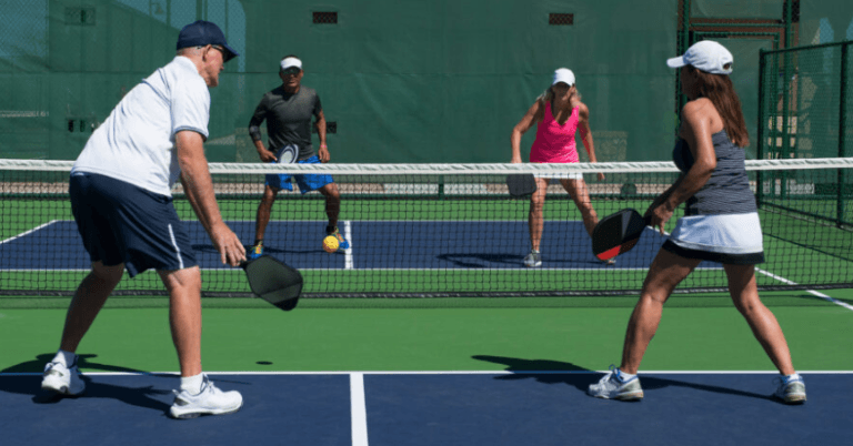 Pickleball and Seniors - Playing Doubles