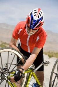 Bikes-and-Seniors - Man fixing Bike