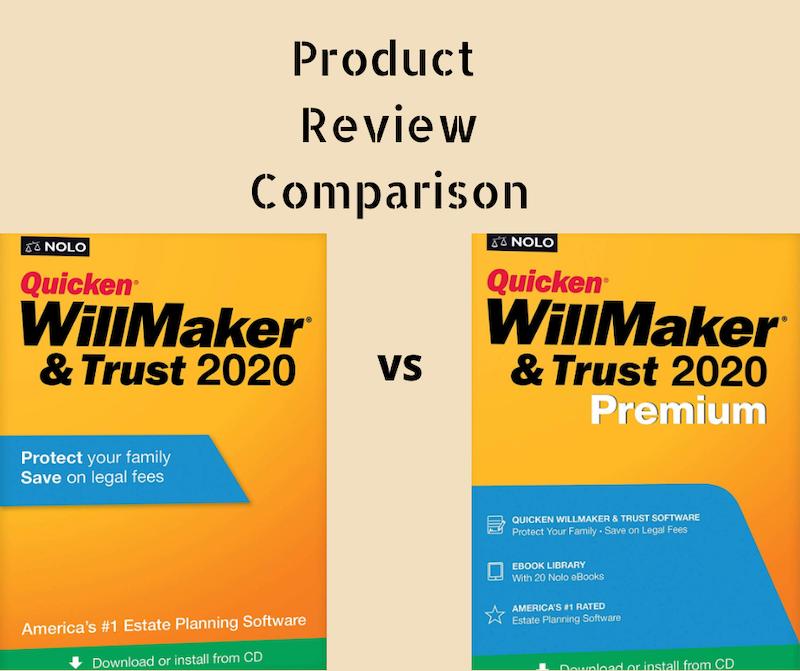Quicken WillMaker&Trust vs Quicken WillMaker&Trust Premium