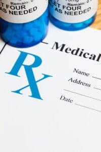 Prescription Medicine - Pill Bottle and Prescription