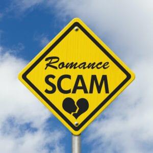 Warning Sign Romance Scam