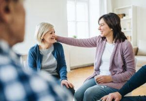 Osteoarthritis vs Rheumatoid Arthritis - Men and Women in a Support Group Circle