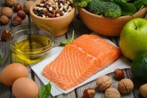 Osteoarthritis vs Rheumatoid Arthritis - Selection of Balanced Diet Foods