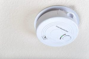 In Home Safety for the Elderly-Carbon Monoxide Alarm