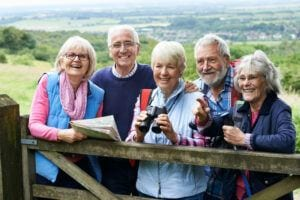 Older Adults and Social Isolation - Overcoming Social Isolation - Group of Senior Friends