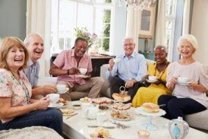 Older Adults and Social Isolation - Social Isolation - Senior Friends Enjoying Life