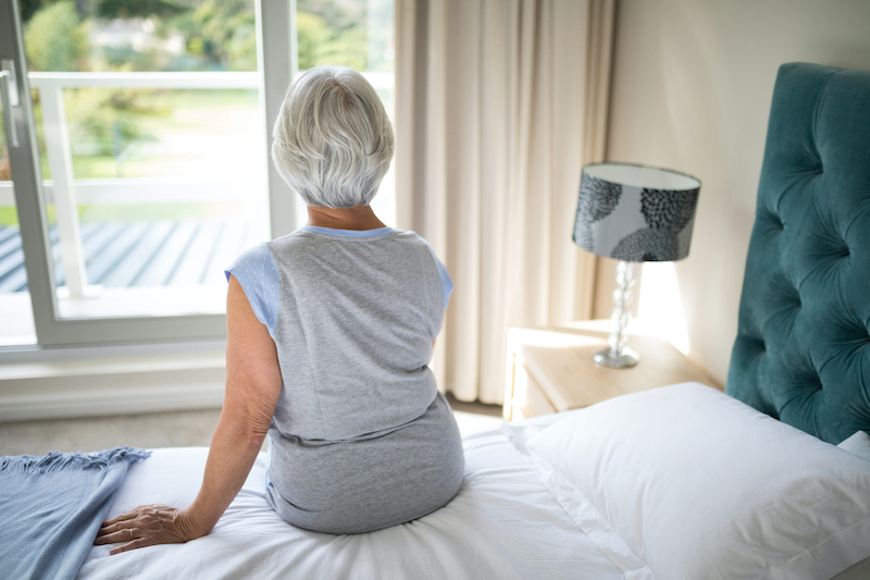 In Home Safety for the Elderly j- Bedroom