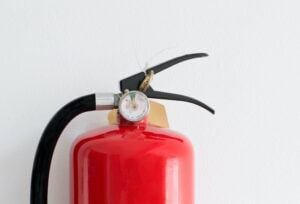 In Home Safety for the Elderly-Fire Extinguisher