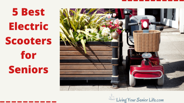 5 Best Electric Scooters For Seniors