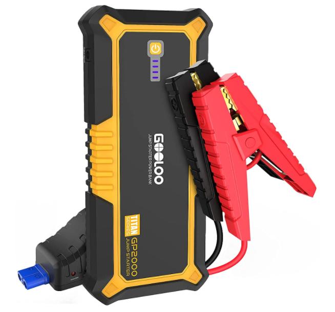5 Best Portable Car Battery Jump Starters (2021 Comparison) - GooLoo
