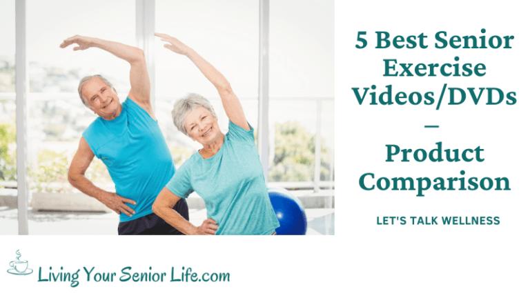 5 Best Senior Exercise Videos/DVDs – Product Comparison