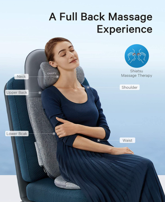7 Best Back Massagers for Chairs (2021 Comparison Guide) - Naipo