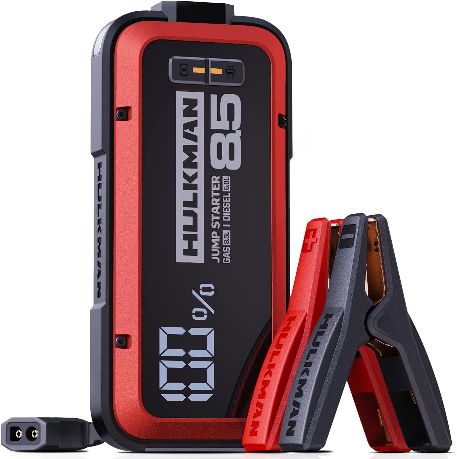 5 Best Portable Car Battery Jump Starters (2021 Comparison) - HULKMAN