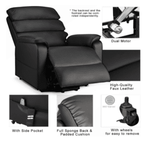 5 Best Power Lift Recliner Chairs -  - Esright - Features