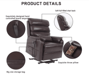 5 Best Power Lift Recliner Chairs -  - Irene House - Features