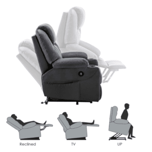 5 Best Power Lift Recliner Chairs - Mcombo - Angles