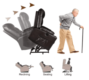 Power Lift Recliner Chairs - Relaxixi Angles