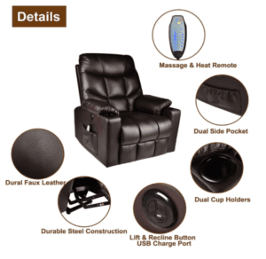 5 Best Power Lift Recliner Chairs Buyng Guide - Relaxixi Features