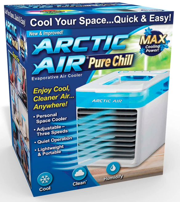 Best Portable Air Conditioner for Seniors (2021 Reviews and Guide) - Ontel Arctic Air