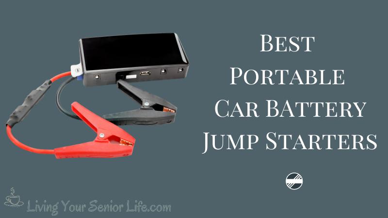 5 Best Portable Car Battery Jump Starters