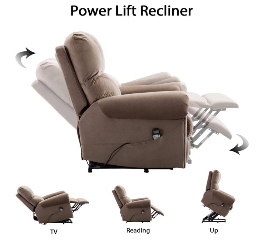 5 Best Power Lift Recliner Chairs (2021 Comparison Guide) - Bonzy