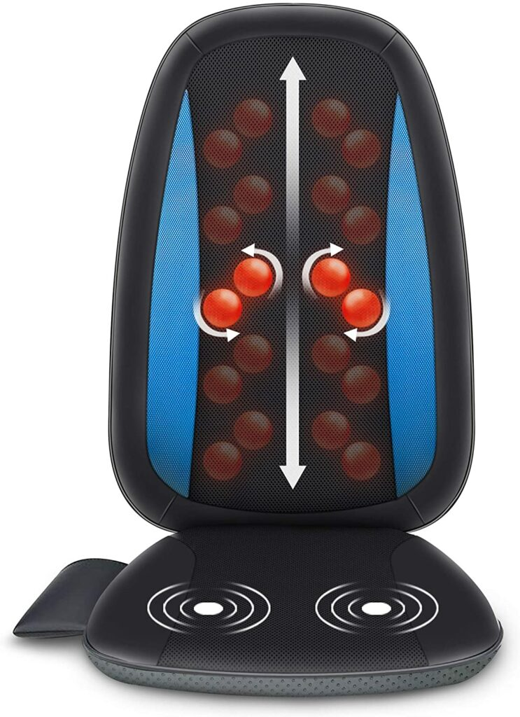 7 Best Back Massagers for Chairs (2021 Comparison Guide) - Comfier