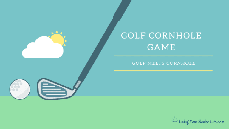 Golf Cornhole Game