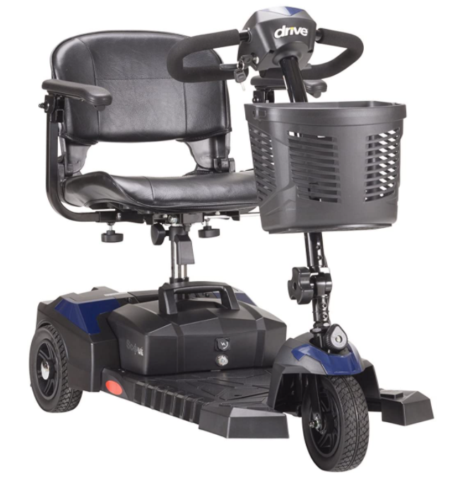 5 Best Electric Scooters For Seniors - Drive Medical Spitfire Scout 3