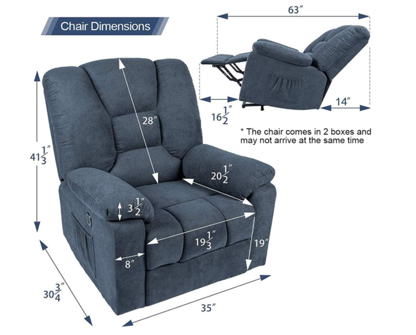 5 Best Power Lift Recliner Chairs - Esright Dimensions