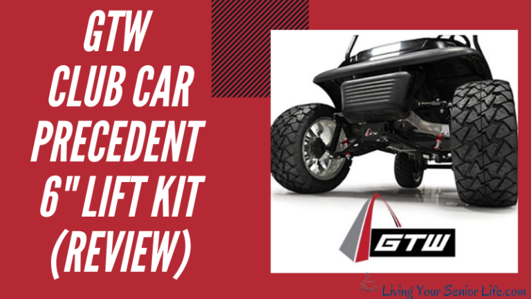 "GTW Club Car Precedent 6""Lift Kit (Review)"