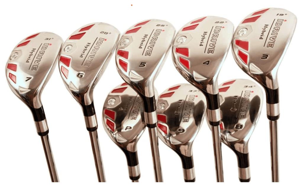 5 Best Golf Club Sets for Senior Women - iDrive Hybrid