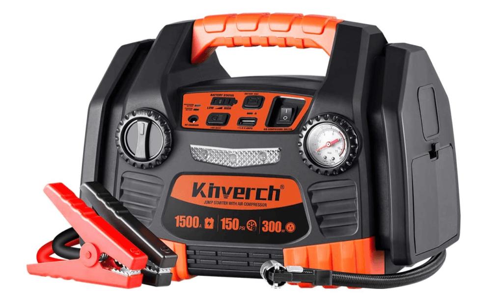 5 Best Portable Car Battery Jump Starters - Kinverch