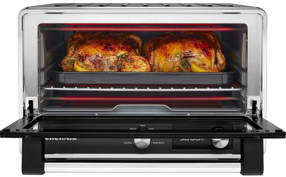 5 Top Rate Toaster Ovens - KitchenAid