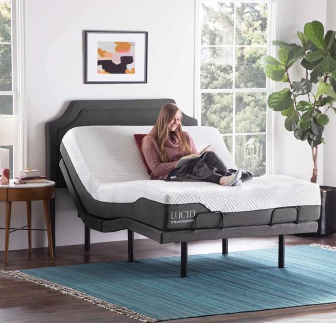 5 Best Adjustable Beds For Seniors - Lucid L300
