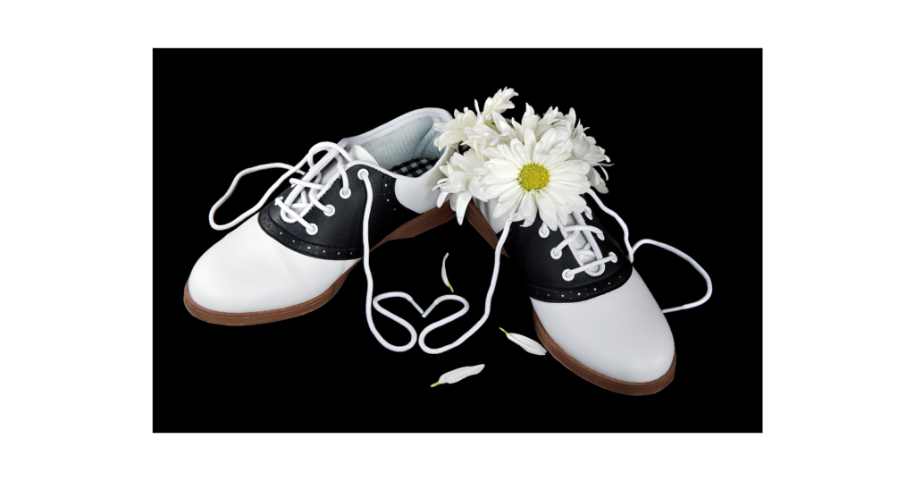 Life in the 1950s - Saddle Shoes