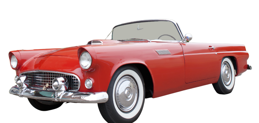 Life in the 1950s - Ford Thunderbird