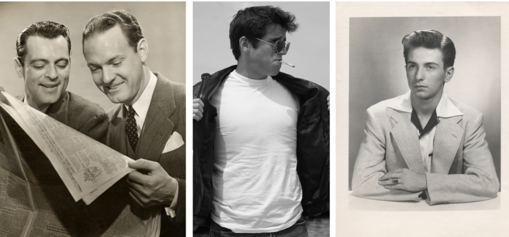 Life in the 1950s - Men's Fashion