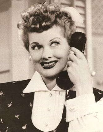 Life in the 1950s - Lucille Ball