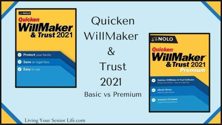 Quicken WillMaker & Trust vs Quicken WillMaker & Trust Premium 2021