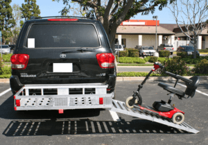 3 Best Mobility Scooter Transport Racks for 2020 - MaaxHaul Transporter Rack