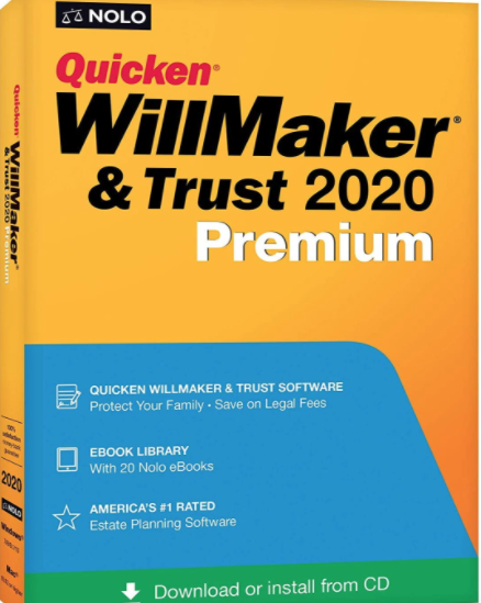 Quicken WillMaker & Trust 2020 Premium