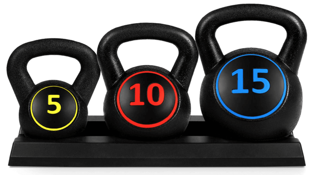 Best Exercise Equipment for Seniors - Kettlebells