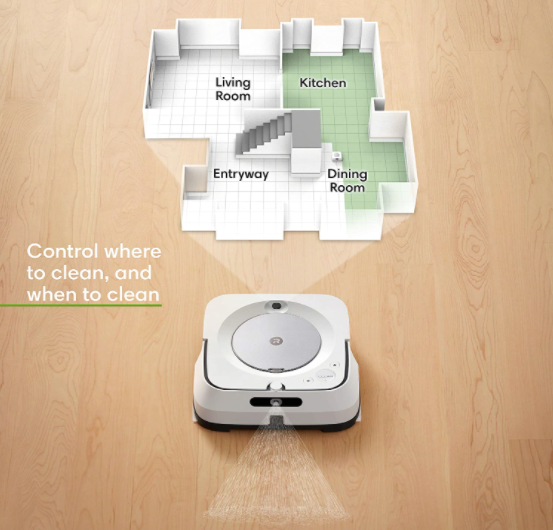iRobot Braava Jet m6 - 6110 WiFi Connected Robot Mop - Review - Mapping