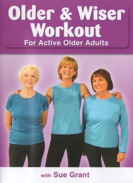 5 Best Senior Exercise Videos/DVDs – Product Comparison - Older & Wiser Workout for Seniors and Active Older Adults