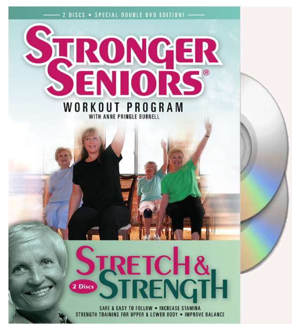 5 Best Senior Exercise Videos/DVDs – Product Comparison   - Stronger Seniors® Stretch and Strength Chair Exercise Program