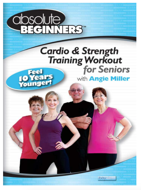 5 Best Senior Exercise Videos/DVDs – Product Comparison     - Absolute Beginners – Cardio & Strength Training Workout for Seniors