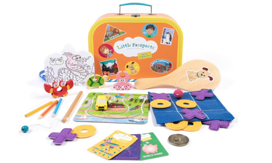 9 Best Monthly Subscription Boxes for Kids - Little Passports Early Explorers
