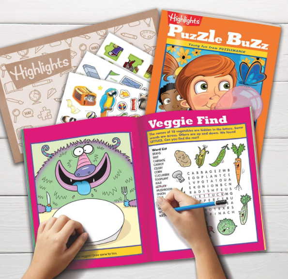 9 Best Monthly Subscription Boxes for Kids - Highlights Puzzle Club